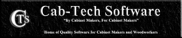 Cab-Tech Software Home of Quality Software for Cabinet Makers and Woodworkers